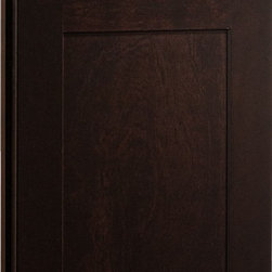 Dayton Door | Birch Sable Finish | CliqStudios.com Kitchen Cabinets - Dayton's shaker-inspired, recessed-panel doors and drawer fronts are reminiscent of true arts and crafts character that is exceedingly popular today. Crisp lines and simple styling make Dayton adaptable to any lifestyle.