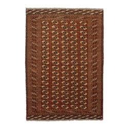 eSaleRugs - 6' 7 x 9' 5 Torkaman Persian Rug - SKU: 22155652 - Hand Knotted Torkaman rug. Made of 100% Wool. Brand New.