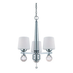 Designers Fountain - Designers Fountain LED85083 Astoria 3 Light 1 Tier Chandelier - Features: