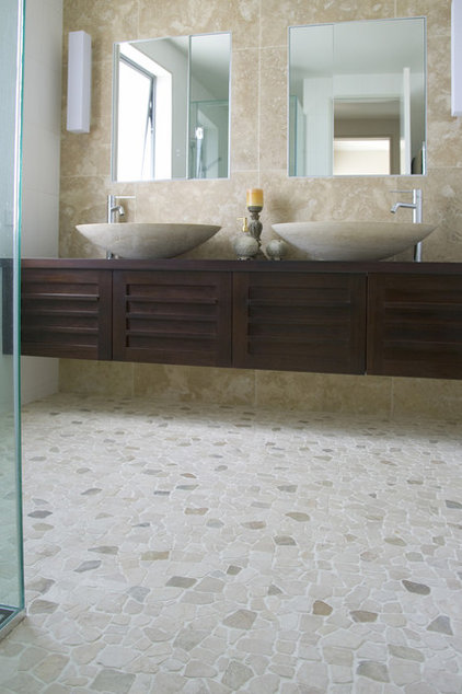 Contemporary Wall And Floor Tile by Island Stone