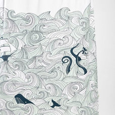 Beach Style Shower Curtains by Urban Outfitters