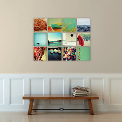 Nautical Photography Art Set on Canvas - september wren