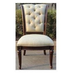 Hooker - Hooker Grand Palais Upholstered Side Chair Set of 2 - Hooker Furniture Grand Palais Upholstered Side Chair (Set of 2) 5272-75510