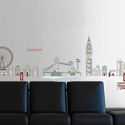 RR - London Wall Decals - London Wall Decals