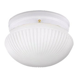 Sea Gull Lighting - Sea Gull Lighting 5921BLE Compact Fluorescent Energy Star Single Light Close to - Single Light Energy Star Flush Mount Ceiling Fixture from the Webster CollectionDetails: