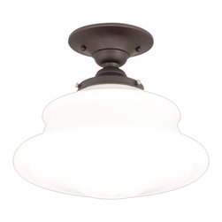Hudson Valley Lighting - Hudson Valley Lighting Petersburg Transitional Semi Flush Mount Ceiling Light X- - Hudson Valley Lighting Petersburg Transitional Semi Flush Mount Ceiling Light X-BO-F2143