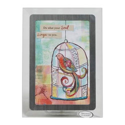 Westland - 4 x 6 Inch Multi-Colored Caged Bird Soul Sings Musical Photo Frame - This gorgeous 4 x 6 Inch Multi-Colored Caged Bird Soul Sings Musical Photo Frame  has the finest details and highest quality you will find anywhere! 4 x 6 Inch Multi-Colored Caged Bird Soul Sings Musical Photo Frame  is truly remarkable.