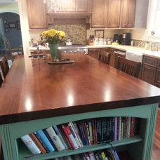 Craftsman Kitchen Countertops by CALIFORNIA BUTCHER BLOCK