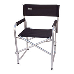 "Earth Products Store - Earth ""Extra Heavy Duty"" Short Outdoor Folding Directors Chair - Earth ""Heavy Duty"" Folding Directors Chairs: Built Wider... Built Stronger... and Made with Reinforced Steel Tubing"