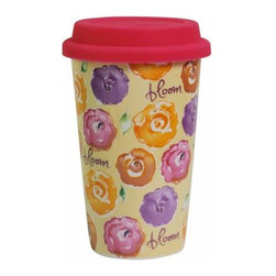 "WL - 6.25 Inch ""Bloom"" 12 Ounce Travel Coffee or Tea To-Go Collectible Mug - This gorgeous 6.25 Inch ""Bloom"" 12 Ounce Travel Coffee or Tea To-Go Collectible Mug has the finest details and highest quality you will find anywhere! 6.25 Inch ""Bloom"" 12 Ounce Travel Coffee or Tea To-Go Collectible Mug is truly remarkable."