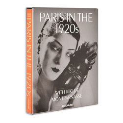 Paris in the 1920s With Kiki de Montparnasse - Style your coffee table stack by genre, color or topic, and then run from there. I personally would love a stack that is Parisian inspired, including this luxe Paris in the 1920s volume.