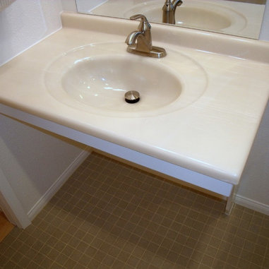 Wheelchair Accessible Sink Design Ideas, Pictures, Remodel and Decor