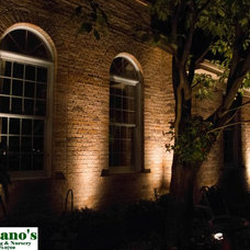 Traditional Landscape Lighting by Montano's Landscaping
