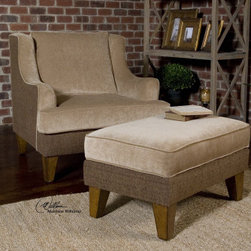 "23071 Daley, Armchair by uttermost - Get 10% discount on your first order. Coupon code: ""houzz"". Order today."