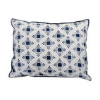Thomas Nautical Blue Standard Pillow Shams, Set of 2