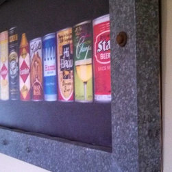 Vintage Beer Can Collection (Custom Framed, Full Sized Prints) - Beer Can Collection (Full Sized)