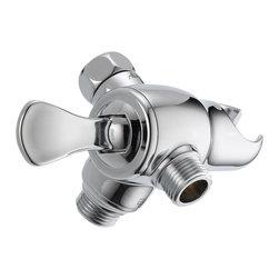 Delta 3-Way Shower Arm Diverter with Hand Shower Mount - U4920-PK - Timeless design for today's homes
