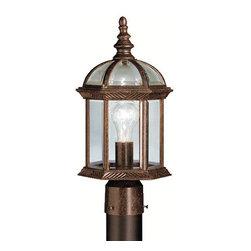 Kichler - Kichler 9935 1 Light Post Light Barrie Collection - Kichler 9935 Barrie Outdoor Post Light