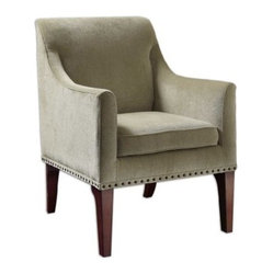 Uttermost Mariko Arm Chair - Light Moss
