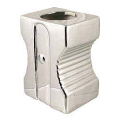 Sharp Organizer - The wonderful design of the old-school pencil sharpener is now gracing your desk as an organizer. Fit for pens, pencils, paperclips, and the like, you'll love the look of this design atop your desk.