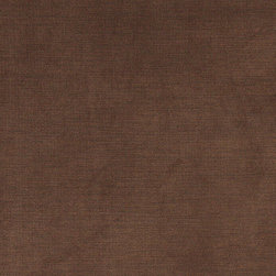Brown Luxurious Microfiber Velvet Upholstery Fabric By The Yard - This luxurious velvet upholstery fabric is the real deal. This velvet can be used for all indoor upholstery needs, and will look incredible on any piece of furniture. It is also sure to last!