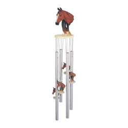 GSC - Wind Chime Round Top Horse Bust Music Hanging Garden Porch Decoration - This gorgeous Wind Chime Round Top Horse Bust Music Hanging Garden Porch Decoration has the finest details and highest quality you will find anywhere! Wind Chime Round Top Horse Bust Music Hanging Garden Porch Decoration is truly remarkable.
