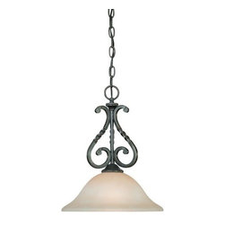 Jeremiah Lighting - Jeremiah Lighting 22421 Sutherland 1 Light Mini Pendant - Jeremiah Lighting 1 Light Mini Pendant from the Sutherland CollectionFeatures: