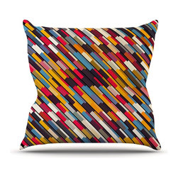 """Kess InHouse - Danny Ivan """"Texturize"""" Throw Pillow (Outdoor, 16"""" x 16"""") - Decorate your backyard, patio or even take it on a picnic with the Kess Inhouse outdoor throw pillow! Complete your backyard by adding unique artwork, patterns, illustrations and colors! Be the envy of your neighbors and friends with this long lasting outdoor artistic and innovative pillow. These pillows are printed on both sides for added pizzazz!"""