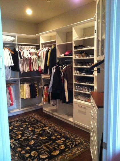 Traditional  by Custom Closets & More...
