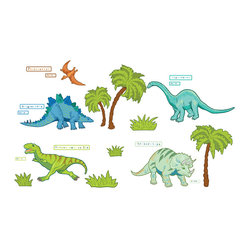 Dinosaur Expedition Wall Decals