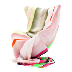 Scholten & Baijings Luxury Throw/Blanket - The colors in this luxurious throw are gorgeous enough to plan a room around — heck, I'd plan my whole house around them!