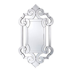 Savoy House - Savoy House 4-1201 Marianne Crystal Glass Mirror - Savoy House 4-1201 Marianne Crystal Glass Mirror