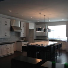 Contemporary Kitchen by Florkowskys Woodworking & Cabinets LTD