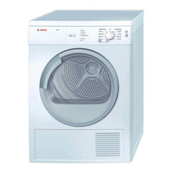 """Bosch Axxis Series 24"""" Compact Vented Dryer, White 