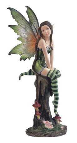 GSC - Fairy Collection Pixie with Clear Wings Fantasy Figurine Decoration - This gorgeous Fairy Collection Pixie with Clear Wings Fantasy Figurine Decoration has the finest details and highest quality you will find anywhere! Fairy Collection Pixie with Clear Wings Fantasy Figurine Decoration is truly remarkable.