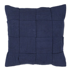 Something Different Pillow - We love the unique weave pattern of the Something Different Pillow. Made from 100% cotton, this pillow is hand-woven and makes an excellent accent pillow.