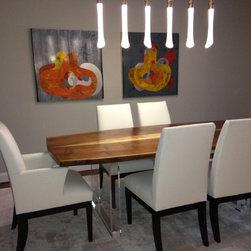 Dining spaces - Haught Designs