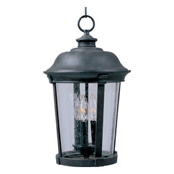 Maxim Lighting - Maxim Lighting 40099CDBZ Dover VX 3-Light Outdoor Hanging Lantern - Maxim Lighting 40099CDBZ Dover VX 3-Light Outdoor Hanging Lantern