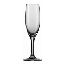 Schott Zwiesel - Schott Zwiesel Tritan Mondial Champagne Flutes - Set of 6 - 0008.133934CPD - Shop for Drinkware from Hayneedle.com! Let the bubbles go to your head when you use the Schott Zwiesel Tritan Mondial Champagne Flutes - Set of 6. Created of high-quality Tritan crystal glass these stunning glasses have a lasting unforgettable sparkle. Elegance comes with ease as these beauties are dishwasher-safe.About Fortessa Inc.You have Fortessa Inc. to thank for the crossover of professional tableware to the consumer market. No longer is classic high-quality tableware the sole domain of fancy restaurants only. By utilizing cutting edge technology to pioneer advanced compositions as well as reinventing traditional bone china Fortessa has paved the way to dominance in the global tableware industry.Founded in 1993 as the Great American Trading Company Inc. the company expanded its offerings to include dinnerware flatware glassware and tabletop accessories becoming a total table operation. In 2000 the company consolidated its offerings under the Fortessa name. With main headquarters in Sterling Virginia Fortessa also operates internationally and can be found wherever fine dining is appreciated. Make sure your home is one of those places by exploring Fortessa's innovative collections.