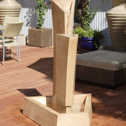 Gist Decor - Tower Outdoor Fountain by Gist Decor -