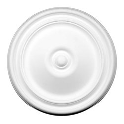 """Renovators Supply - Ceiling Medallions White Urethane Ceiling Medallion 11 7/8 Dia - Ceiling Medallions: Made of virtually indestructible  high-density  urethane our medallions are cast from  steel molds  making them the highest quality on the market. Steel molds provide a higher quality result for  pattern consistency, design clarity & overall strength & durability.  Lightweight they are  easily installed  with no special skills. Unlike plaster or wood urethane is resistant to  cracking, warping or peeling.   Factory-primed  these medallions are ready for finishing. Measures 11-7/8"""" in diameter"""