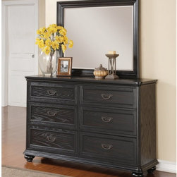 For any space you can enjoy this dresser all by itself or you can