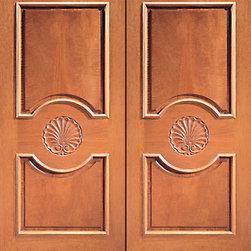 """Prehung Double Door, Hand Carved 3-Panels in Mahogany - SKU#Carved-620_2BrandAAWDoor TypeExteriorManufacturer CollectionCarved & MansionDoor ModelDoor MaterialWoodWoodgrainMahoganyVeneerPrice2600Door Size Options2(30"""") x Height"""" (5'-0"""" x 6'-8"""")  $02(32"""") x Height"""" (5'-4"""" x 6'-8"""")  $02(36"""") x Height"""" (6'-0"""" x 6'-8"""")  +$202(42"""") x Height"""" (7'-0"""" x 6'-8"""")  +$3402(36"""") x Height"""" (6'-0"""" x 7'-0"""")  +$4602(30"""") x Height"""" (5'-0"""" x 8'-0"""")  +$10802(32"""") x Height"""" (5'-4"""" x 8'-0"""")  +$10802(36"""") x Height"""" (6'-0"""" x 8'-0"""")  +$11002(42"""") x Height"""" (7'-0"""" x 8'-0"""")  +$1100Core TypeSolidDoor StyleDoor Lite StyleDoor Panel Style2 Panel , Hand Carved Panel , Raised Moulding , Raised Panel , Circle PanelHome Style MatchingMediterranean , Victorian , Old World , Elizabethan , Pueblo , SuburbanDoor ConstructionTrue Stile and RailPrehanging OptionsPrehungPrehung ConfigurationDouble DoorDoor Thickness (Inches)1.75Glass Thickness (Inches)Glass TypeGlass CamingGlass FeaturesGlass StyleGlass TextureGlass ObscurityDoor FeaturesDoor ApprovalsDoor FinishesDoor AccessoriesWeight (lbs)850Crating Size25"""" (w)x 108"""" (l)x 52"""" (h)Lead TimeSlab Doors: 7 daysPrehung:14 daysPrefinished, PreHung:21 daysWarranty1 Year Limited Manufacturer WarrantyHere you can download warranty PDF document."""