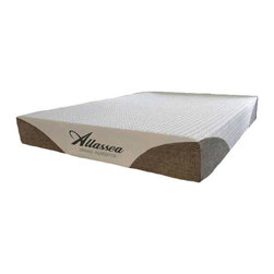"""Allasea - Allassea Sensuous 12 Inch Cool Gel Memory Foam Mattress, King - The open-celled, high density memory foam Sensuous 12"""" ICE Foam Mattress has ICE (Integrated Comfort Experience) Foam, a memory foam heat sensitive technology. Tencel Blended Ticking is combined with Silk and Organic Cotton to create a super durable yet incredibly soft material which naturally repels bed bugs and sleeps cooler, keeping you more comfortable all night long. The Sensuous 12"""" ICE Foam Mattress also contains Ventilated Foam, which allows additional airflow circulation and allow for cooler sleeping.  It is non allergenic and resists mold, mildew, and bacteria."""