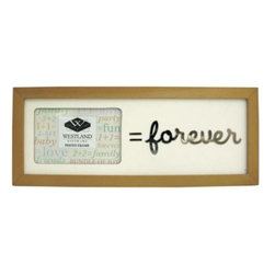 """WL - 2 x 3 Inch """" = Forever"""" Message Collectible Brown Photo Frame - This gorgeous 2 x 3 Inch """" = Forever"""" Message Collectible Brown Photo Frame has the finest details and highest quality you will find anywhere! 2 x 3 Inch """" = Forever"""" Message Collectible Brown Photo Frame is truly remarkable."""