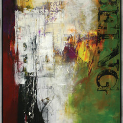 "Scandinavian Art Factory - LARGE ARTWORK - Name/ ""S-Being"""