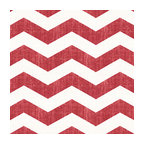 Red & White Chevron Linen Fabric - Graphic chevron in a washed berry red & ivory on lightweight linen adds a punch of color to the contemporary home.Recover your chair. Upholster a wall. Create a framed piece of art. Sew your own home accent. Whatever your decorating project, Loom's gorgeous, designer fabrics by the yard are up to the challenge!