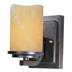 Maxim Lighting - Maxim Lighting 21141SCRE Luminous 1-Light Wall Sconce In Rustic Ebony - Features