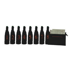 Franmara - Professional Model Blind Wine Tasting Kit With Pouch, 8 Numbers - This gorgeous Professional Model, Blind Wine Tasting Kit with Pouch, 8 Numbers has the finest details and highest quality you will find anywhere! Professional Model, Blind Wine Tasting Kit with Pouch, 8 Numbers is truly remarkable.