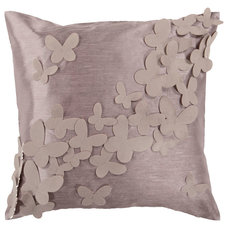 Contemporary Decorative Pillows by Fabric Beautiful